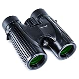 USCAMEL 8X36 Compact Lightweight Binoculars for Travel(Waterproof/Fogproof), Powerful Pocket Binoculars for Adults Kids Bird Watching (UW039-HD8x32)