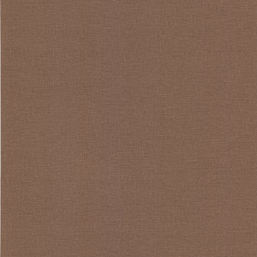 Brewster 438-86445 Alya Brown Linen Texture Wallpaper, Brown (Faux Brown Texture Wallpaper)