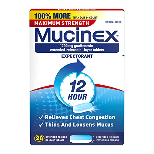 Mucinex SE 12 Hr Max Strength Chest Cong…