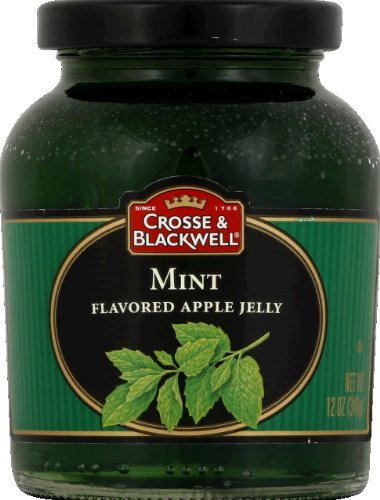 Lamb Apples (Pack of (2) Crosse & Blackwell Mint Flavored Apple Jelly, 12 Oz)