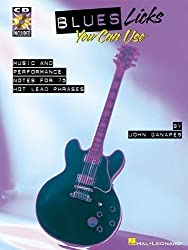 Blues Licks You Can Use: Softcover with CD (Guitar Educational) by Ganapes, John (2000) Paperback