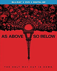 Cover Image for 'As Above, So Below (Blu-ray + DVD + DIGITAL HD)'