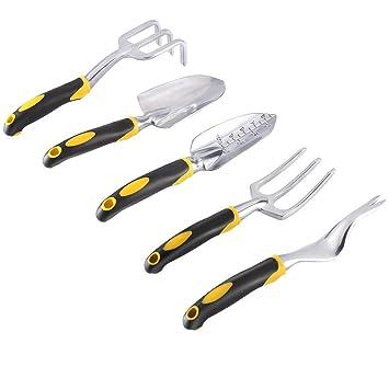 Ensembles d\'outils de jardin,EverFabulous alliage d\'aluminium ...