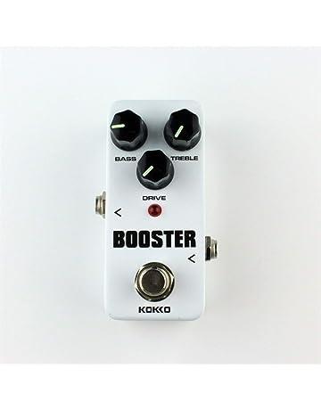 FBS-2 Mini Overdrive Pedal de efectos de guitarra Guitarra Overdrive Booster Tubo de alta