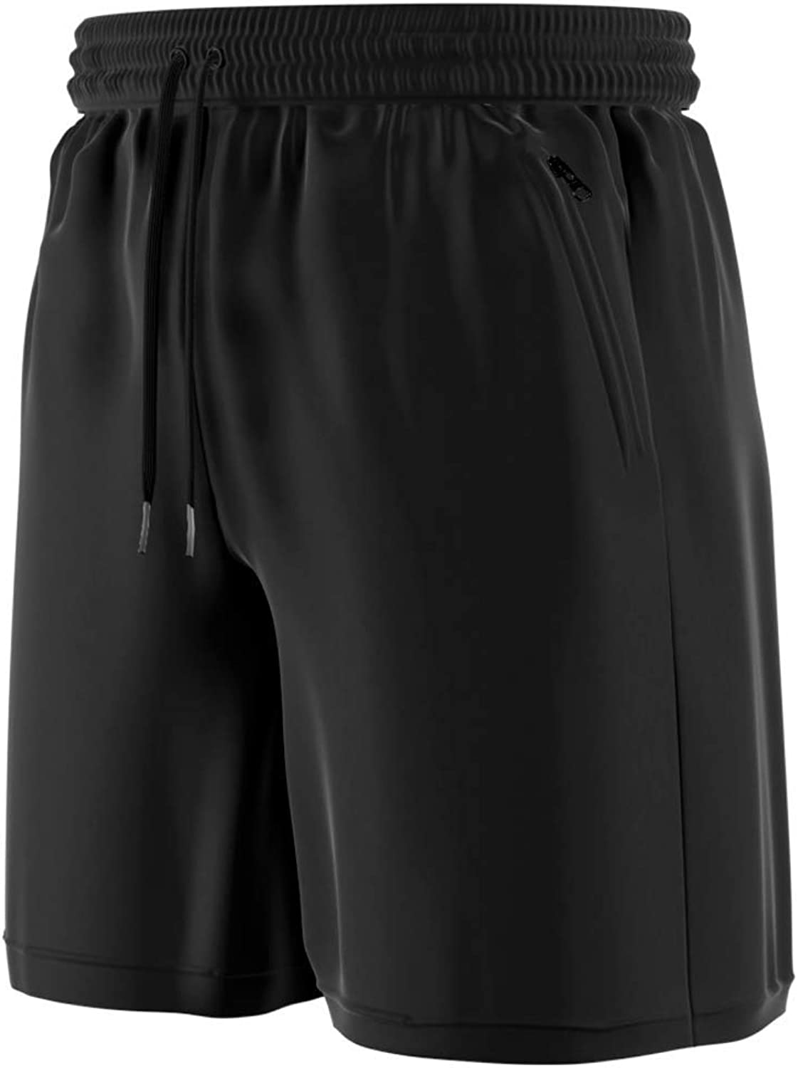 Comfort 360° - Men's Premium Athletic Sports, Running & Workout Gym Shorts with Zipper Pockets