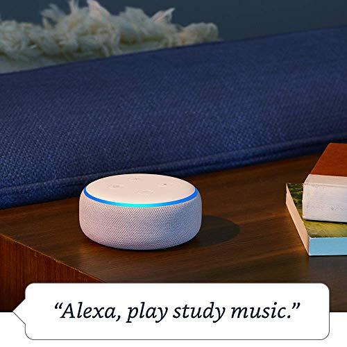 Echo Dot 3rd Gen  Smart speaker with Alexa  Charcoal