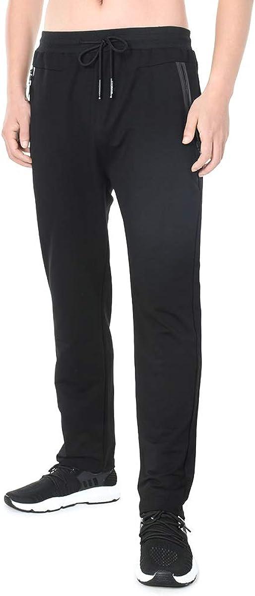 SKeshine Pantaloni Tuta da Jogging da Uomo Slim Fit Tasche con Zip