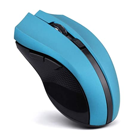 HNMK - Ratón óptico inalámbrico de 2,4 GHz para Ordenador portátil con PC y