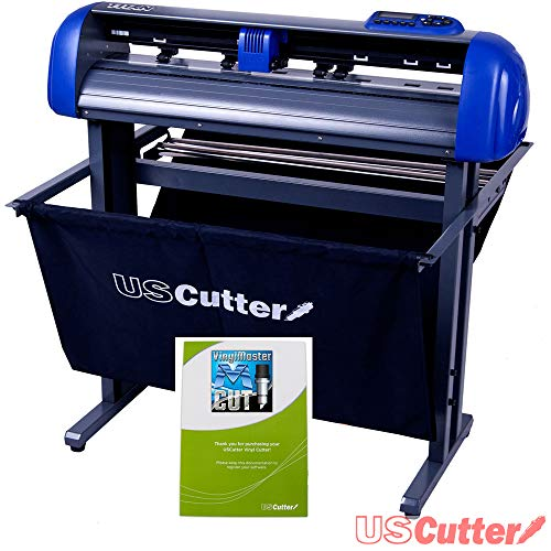 - USCutter Titan 28 inch Vinyl Cutter with Stand, Basket and VinylMaster Cut (Design and Cut) Software
