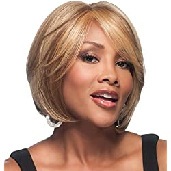 Vivica A. Fox LENI-V New Futura Fiber, HAND-MADE, PS Cap Wig in Color 1