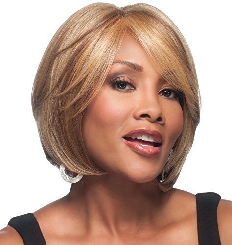 Vivica A. Fox LENI-V New Futura Fiber, HAND-MADE, PS Cap Wig in Color 1B