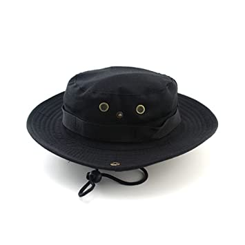 28f3b9cbd67 JUNHONGZHANG 2018 Military Camouflage Bucket Hats Fisherman Hat With Wide  Brim Jungle Camo Sun Hat Caps