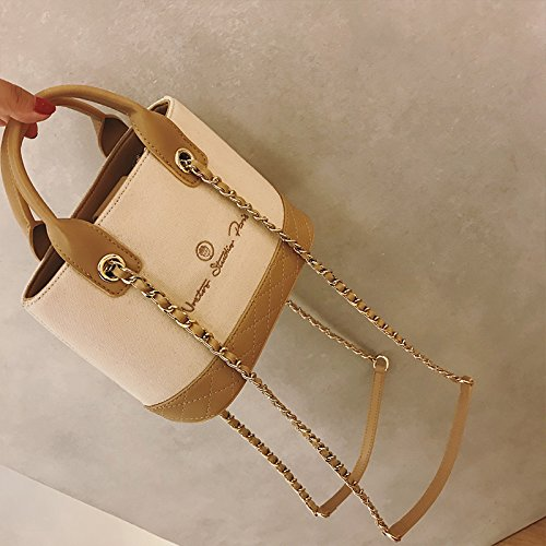 Bags Wxin Handbags Skew Women's Water Bags Shoulder Canvas Leisure Letters rrwUqEp