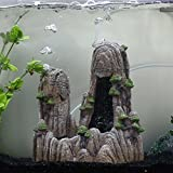 Saim Mountain Aquarium Ornament - Rock Cave Stone HIDE Bonsai Decoration Decor