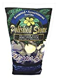 Mosser Lee ML1162 Assorted Polished Stones Soil Cover, 5 lb
