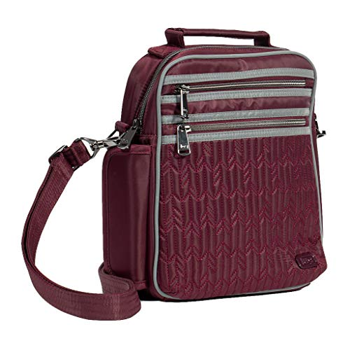 Wine Lug (Lug Women's Boxcar Crossbody Bag, Wine Red Cross Body, One Size)