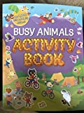 Busy Animals Activity Book
