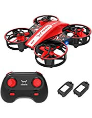 $28 » NEHEME NH330 Mini Drones for Kids Beginners Adults, RC Small Helicopter Quadcopter with Headless Mode, Auto Hovering, Throw to Go, 3D Flip and 2 Batteries, Indoor Flying Toys/Gift for Boys Girls