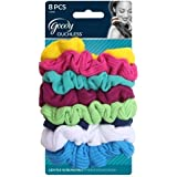 Goody Ouchless Scrunchie Jersey, Variety, 8 Count (Colors May Vary)