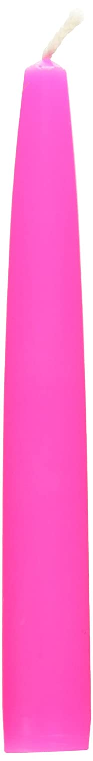 6-Inch Hot Pink Zest Candle 12-Piece Taper Candles