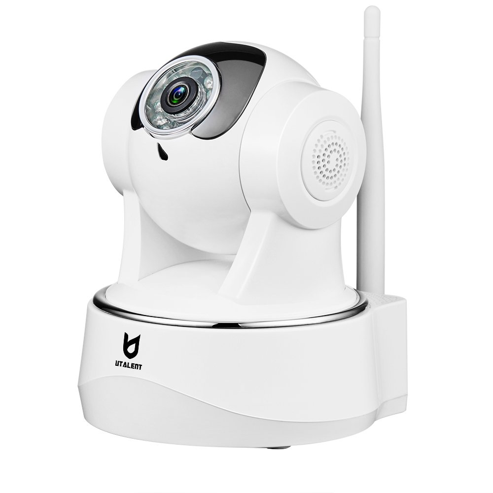 WiFi IP Camera, Utalent 1080P HD Indoor Wireless Home Security Surveillance Camera with Motion Detection, Pan/Tilt, Two Way Audio, Night Vision, Baby Monitor, Nanny Cam
