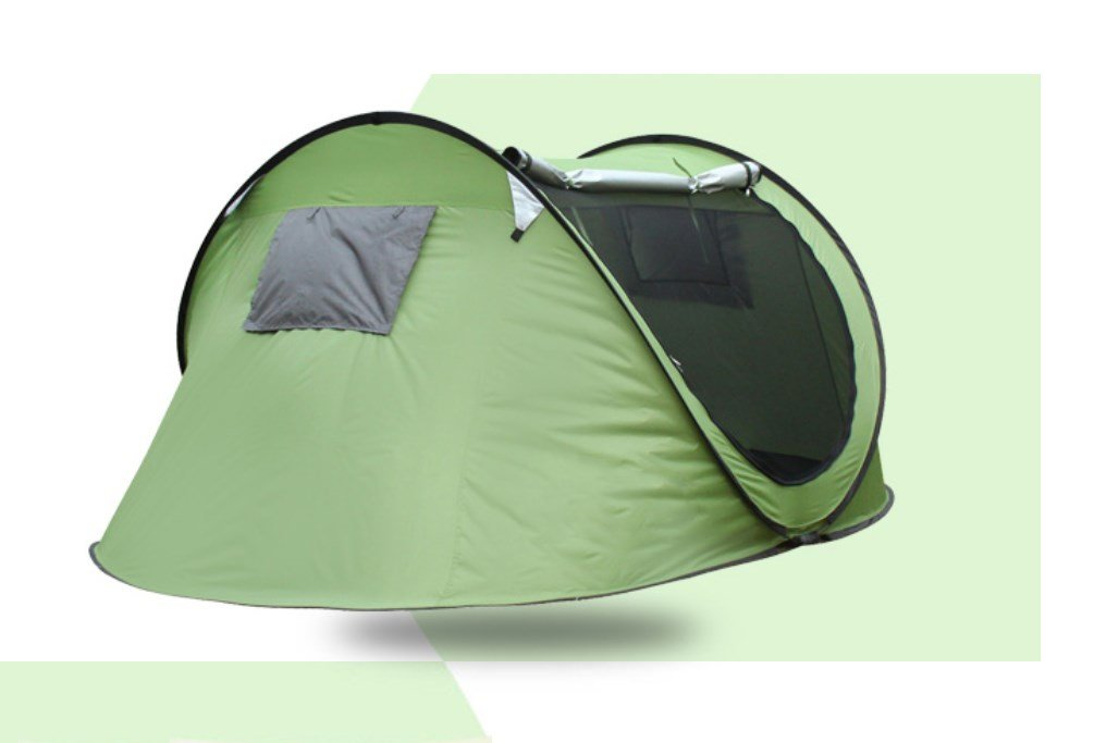 Zelt im Freien 3-4 Automatische Zelt Camping Camping Feld Strand Zelt ZXCV