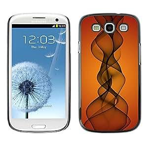 SKCASE Center / Funda Carcasa - Puesta del sol anaranjada Indian Music;;;;;;;; - Samsung Galaxy S3