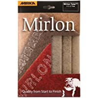 Mirka 18-118-449RP 3 pieces 4 1/2-Inch by 9-Inch Micro Fine Scuff Pads (Gold) 2500 by Mirka