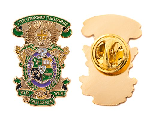 Desert Cactus Lambda Chi Alpha Fraternity Crest Lapel Pin Enamel Greek Formal Wear Blazer Jacket Lambda Chi (Crest Pin)