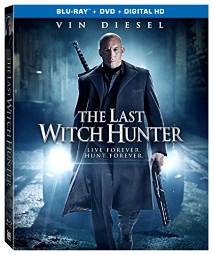 The Last Witch Hunter [Blu-ray + DVD + Digital -