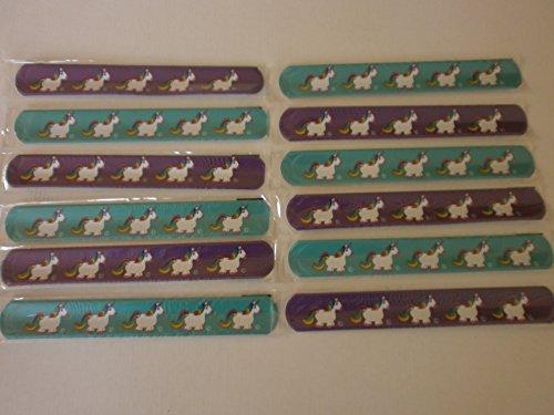 12 x Schnapp pulsera Unicornio | pulsera Unicorn | Clap ...