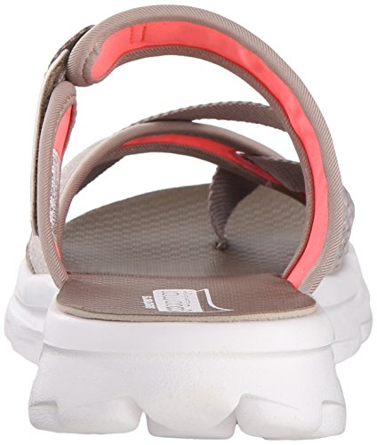 Skechers Move Performance Taupe Womens Flip Go Walk Relax Flop rgrqwxzS