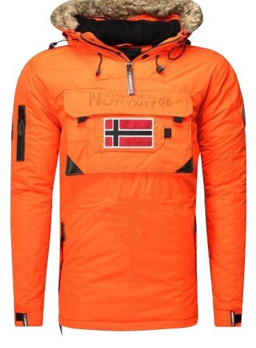 Geographical Norway – Deporte de invierno – Chaqueta Bronson para niño, color naranja, color naranja, tamaño 10 ans: Amazon.es: Zapatos y complementos
