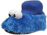 Sesame Street Baby Girls Cookie Monster Puppet Slipper
