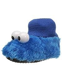Sesame Street Baby Cookie Monster Puppet Slipper