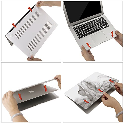 MacBook Case Plastic Hard Shell Cover for 13 Inch Apple MacBook Pro A1706/A1708 (Office Style) by KAOPU (Image #6)