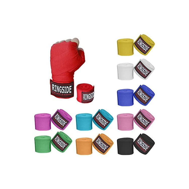 Ringside Mexican Style Boxing Hand Wraps White 5 Pairs Pack