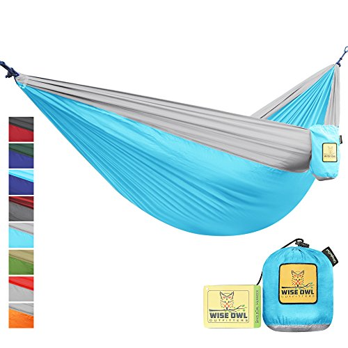 Hammock By Wise Owl Outfitters Single & Double Camping Hammocks - Top...