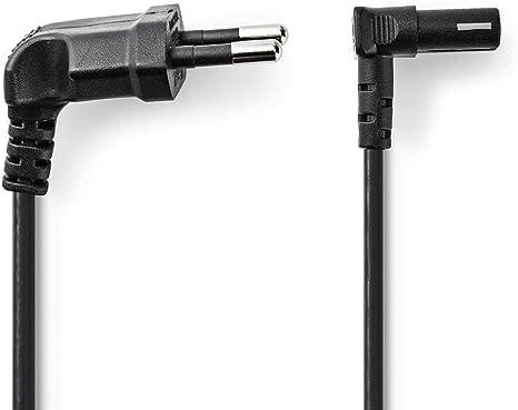 TronicXL - Cable de alimentación en ángulo para televisores y ...