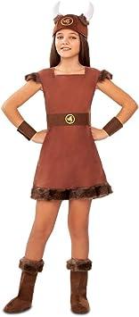 My Other Me Disfraz de Vikinga Odín para niña: Amazon.es ...