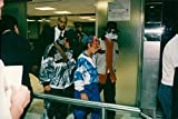 Vintage photo of Michael Jackson travels with two boys Eddie and Frank Cascio