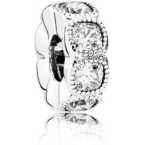 PANDORA - Enchanted Crown Ring in Sterling Silver with Black Crystals and Clear Cubic Zirconia, Size 10 US / 62 EURO