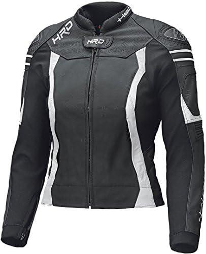 Held Street 3 0 Damen Motorrad Lederjacke Schwarz Weiß 40 Auto