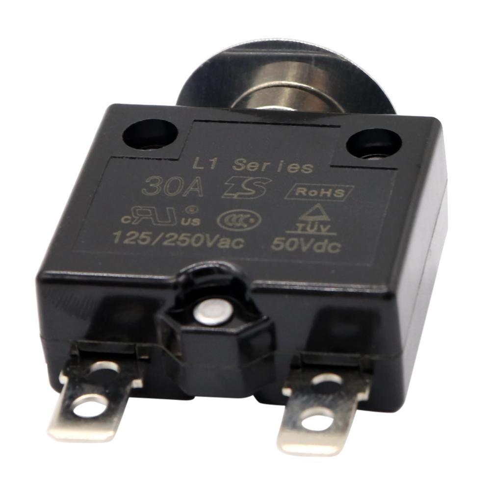 125 /à 250 V /À bouton poussoir 50 V CA R/éinitialisation manuelle Disjoncteur thermique r/éenclenchable Starnearby