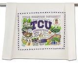 TEXAS CHRISTIAN UNIVERSITY (TCU) COLLEGIATE DISH TOWEL - CATSTUDIO