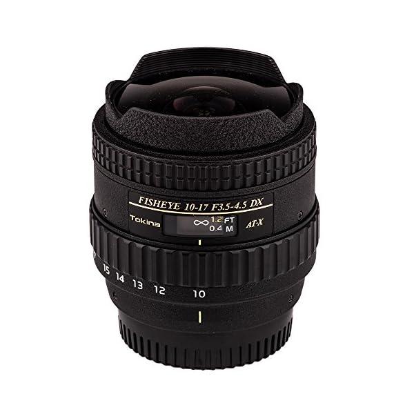 RetinaPix Tokina at-X AF 10-17mm f3.5-4.5 DX Fisheye Zoom Lens for Nikon DSLR Cameras