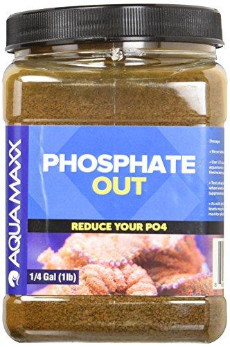 AquaMaxx GFO Phosphate Out Granular Ferrous Oxide Filter Media - 1 Quart (Phosphate Media)