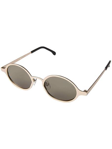 Amazon.com: Komono Quin anteojos de sol en oro blanco: Clothing