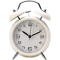 VORRINC Reloj Despertador de Doble Campana con luz