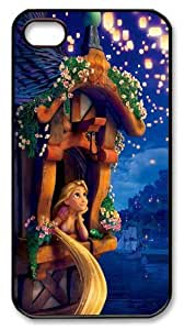 icasepersonalized Personalized Protective Case for iPhone 4/4S - Disney Film Tangled Princess Rapunzel